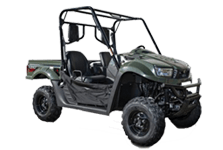 UTV's sold at Talladega Cycles Sales in Talladega, AL.